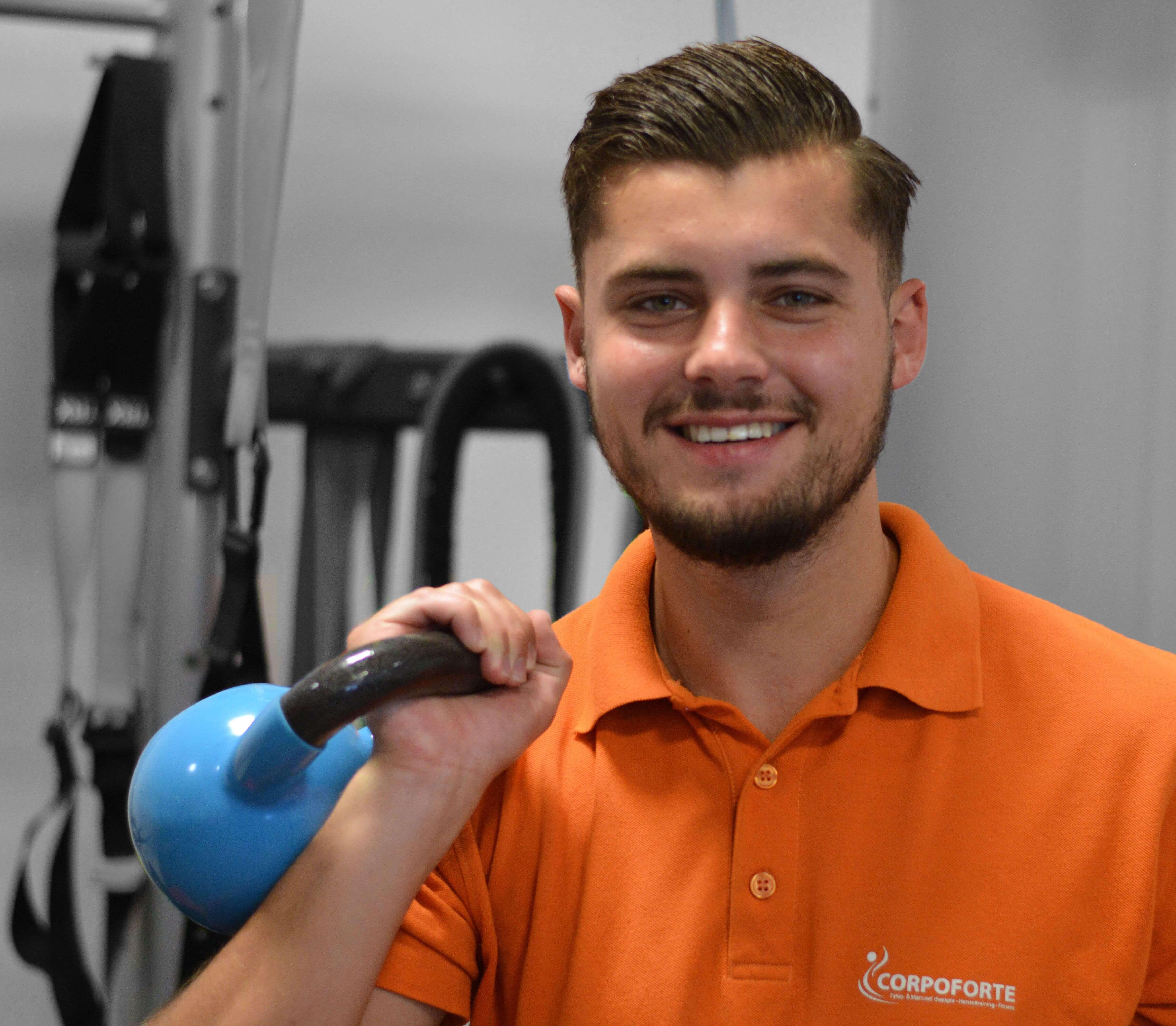 Dion van Welie Fitnessinstructeur Active4health Corpoforte Fitnesstrainer Nesselande