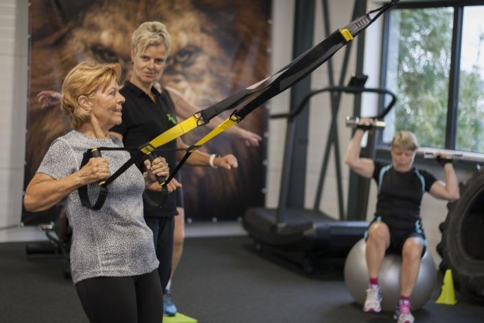 Senioren fitness groepsles